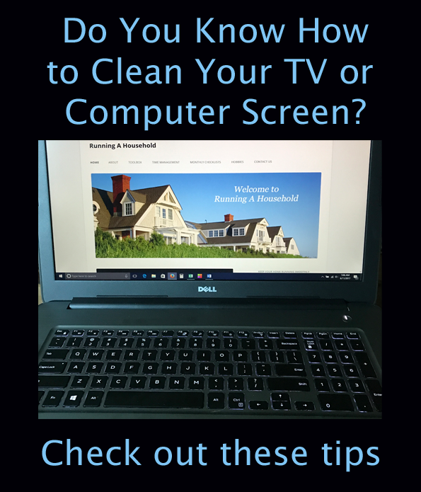 How To Clean Tv Screens Amazing Diy Screen Cleaner For