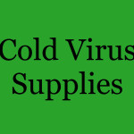 Cold Virus Supplies - Sign