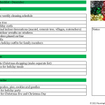 Christmas Checklist December