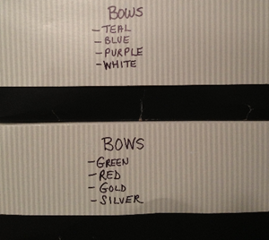 Bow Boxes - Outside