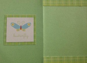 Baby Card - inside