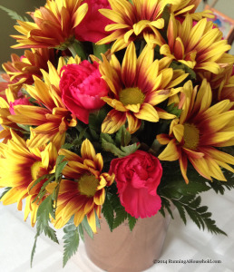 Thanksgiving small floral centerpiece
