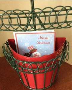 Christmas Cards - Basket