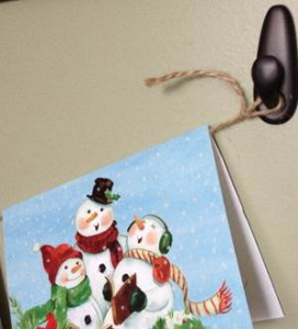Hook for Christmas cards