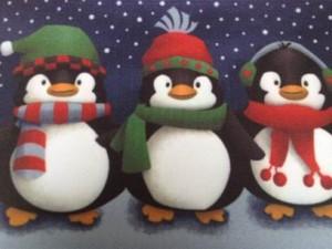 Winter - Penguin mat