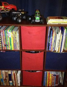 Books - 9 cube