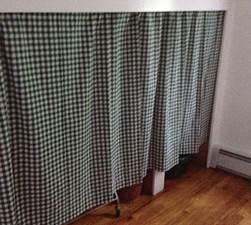Curtains - closet