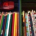 how to organize child's desk