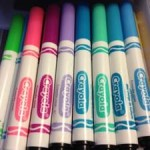 how to organize markers