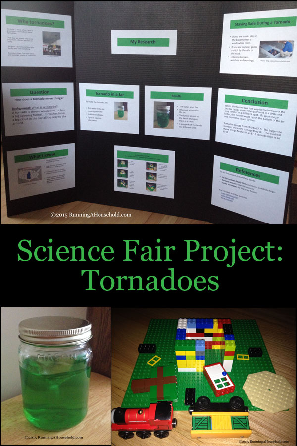 Science Fair Project Tornadoes