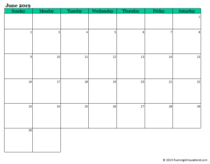 It's Time to Organize and Plan Your Summer Calendar